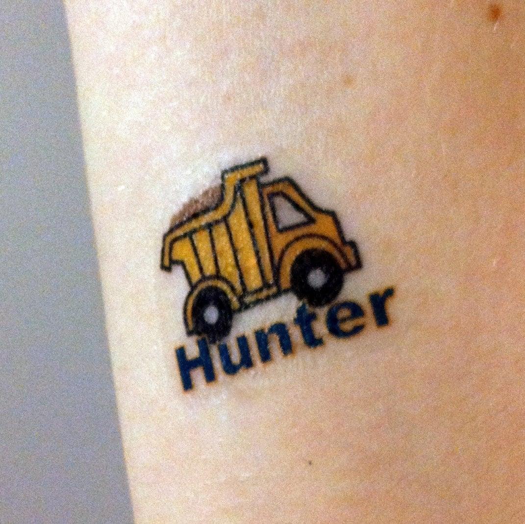 Set of 8 custom temporary tattoos kids party favors for Custom temp tattoos