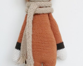 FIBI the fox - based on Lalylala amigurumi pattern
