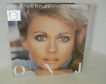 ONJ Olivia Newton-John's Greatest Hits 1980 Vinyl LP