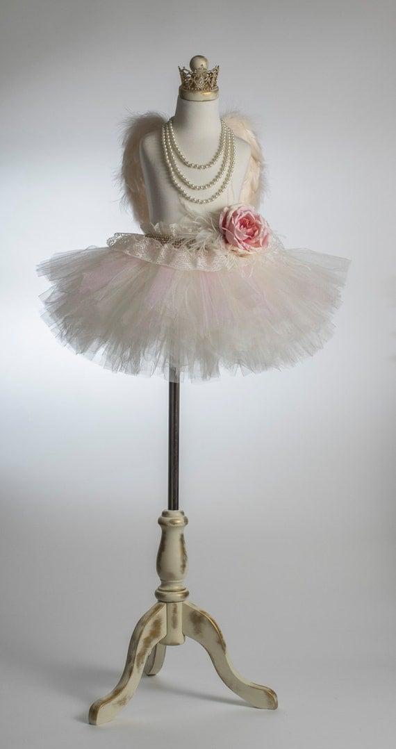 Nursery Room Decor - Girl's Room Decor- Mannequin Decor - Vintage Style Mannequin Tutu - Mannequin Tutu Decor