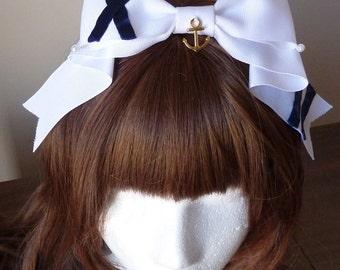 Marine Sailor Pearl Headbow