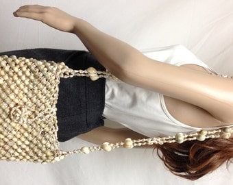 Sea Shell purse,Beaded shell bag,Shoulder Bag,bag,purse, Free shipping in the US