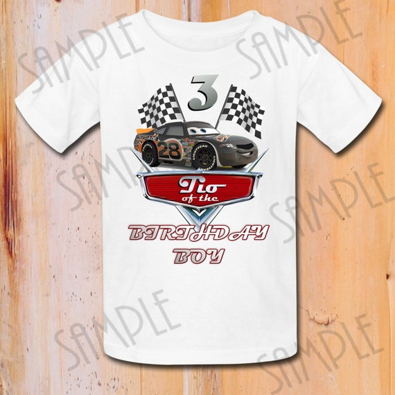 T Shirt Disney Cars Diy Custom Iron On Transfer Printable Tio