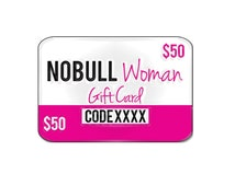 50 Dollar Gift Certificate Card for NoBull Woman Apparel, Fitness Clothes or Wedding Clothes
