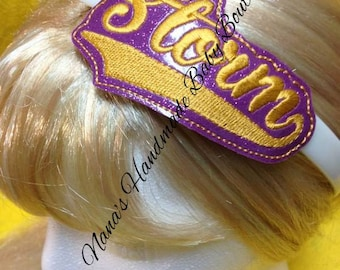 Storm - Team Headband Slip On - DIGITAL EMBROIDERY DESIGN