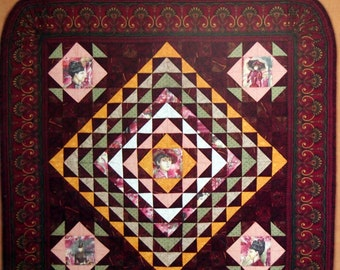 Pocket Quilts By Lucy Fazely Quilt Pattern Booklet 1997
