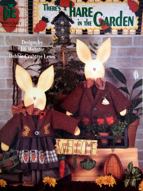 There's A Hare In The Garden By Jill Webster And Debbie