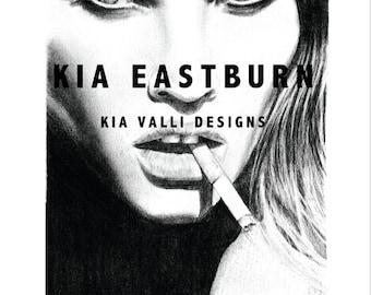 Tobacco  - Drawing art print