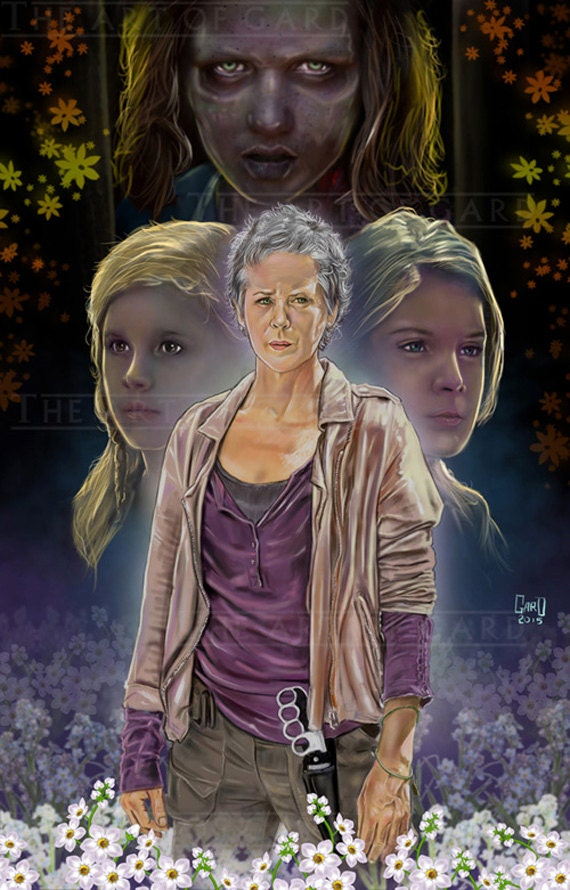 Carol of The walking Dead