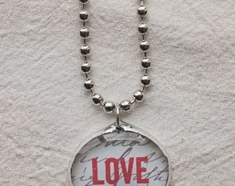 graffiti love.  Charming Bauble.