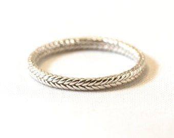 Infinity Braided Ring in 14kt  Gold