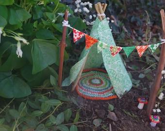 Irish Celtic Fairy Garden Teepee LIMITED EDITIONIrish fairy garden   Etsy. Fairy Garden Ornaments Ireland. Home Design Ideas
