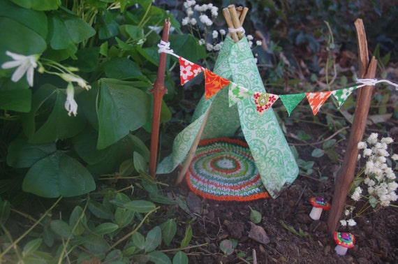Irish celtic fairy garden teepee limited edition for Irish fairy garden