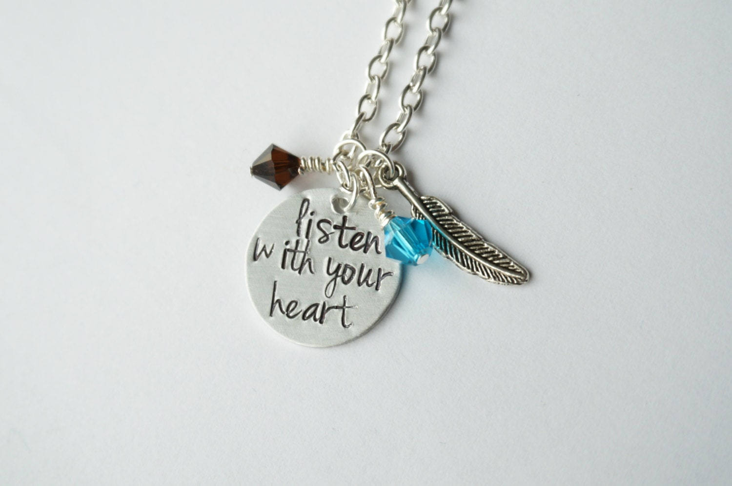 Pocahontas Inspired Necklace Listen With Your By