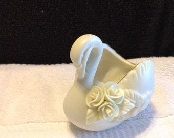 Vintage Porcelain Swan