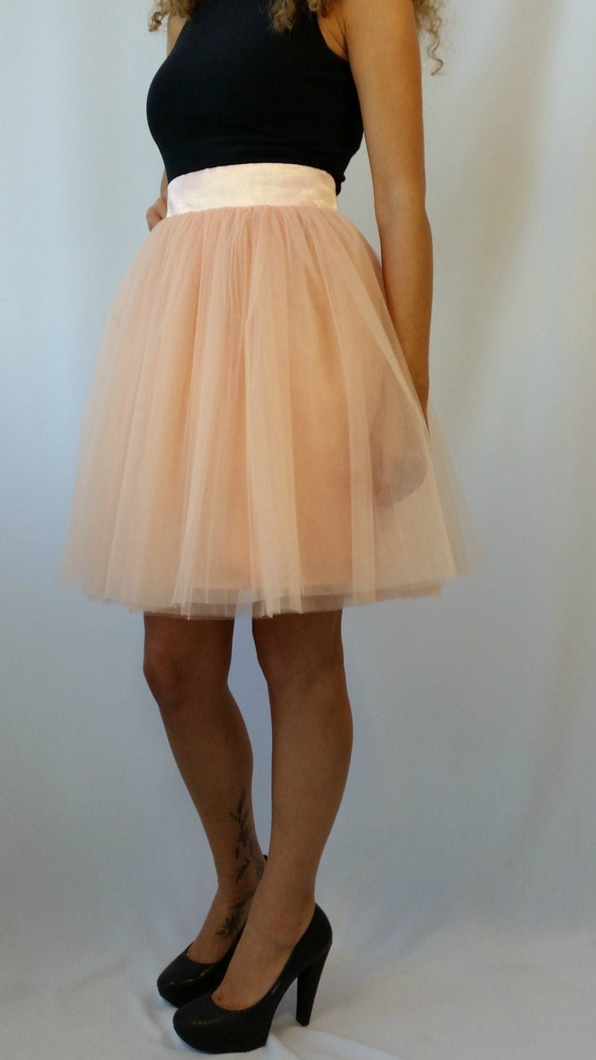 tulle skirt knee length tutu skirt princess
