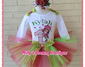 Strawberry Shortcake Birthday Outfit