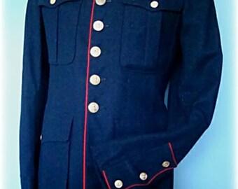 Marine Corps Men's Vintage Jacket Costume