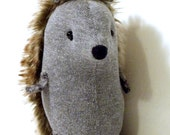 Soft Hedgehog Stuffed Toy Handmade Decorative Toy