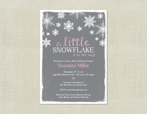 Winter Onederland Birthday Party Invitations was awesome invitation design