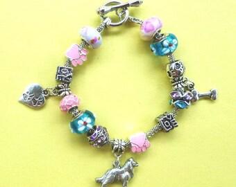 9-Collie  PAND*RA Style Bracelet