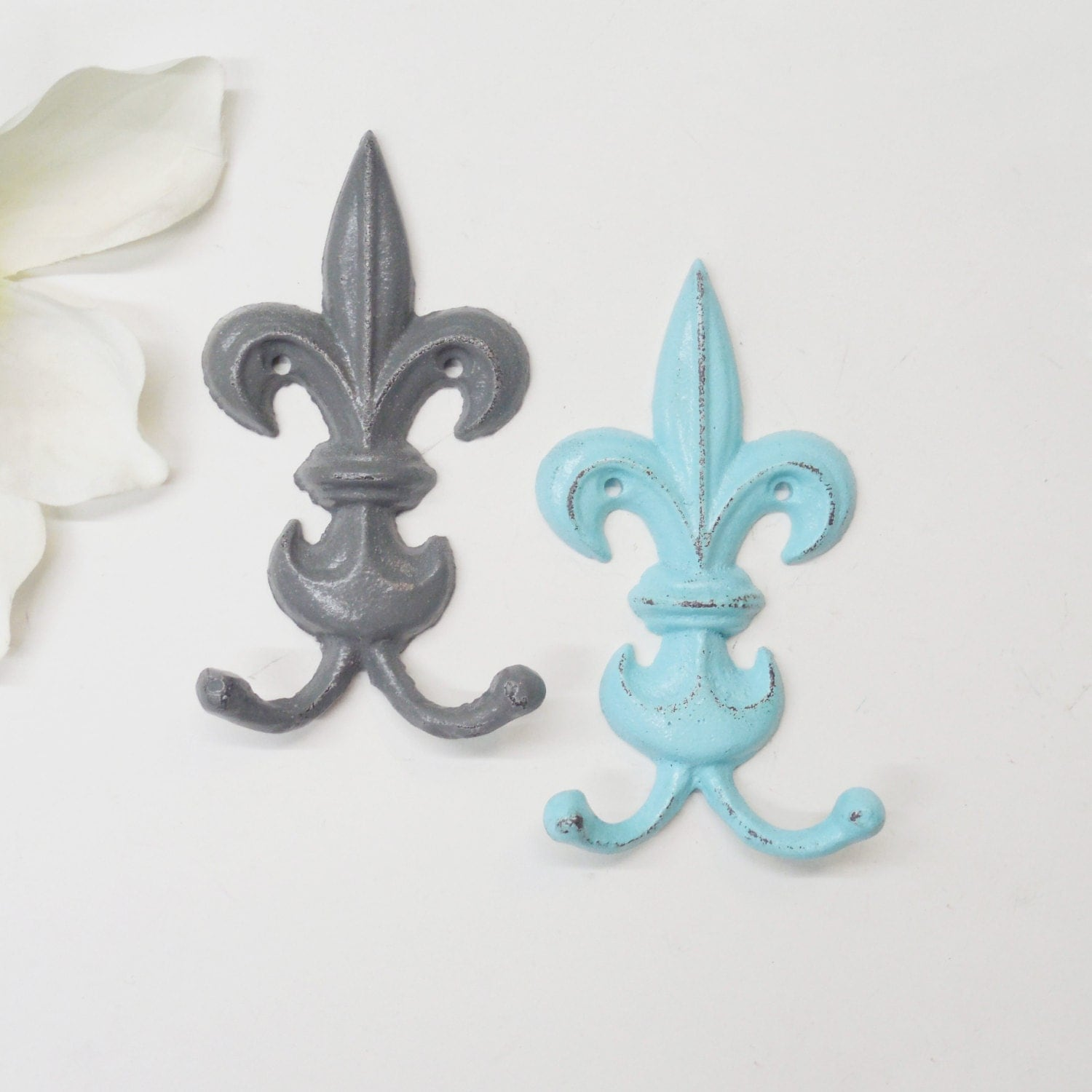 Request a custom order and have something made just for you - Fleur de lis coat hook ...