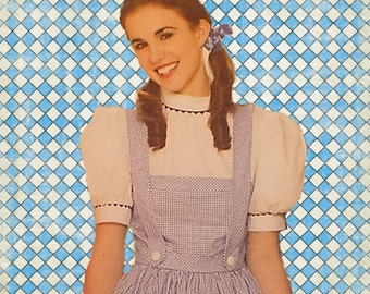 Womans Wizard of Oz Dorothy Dress Costume