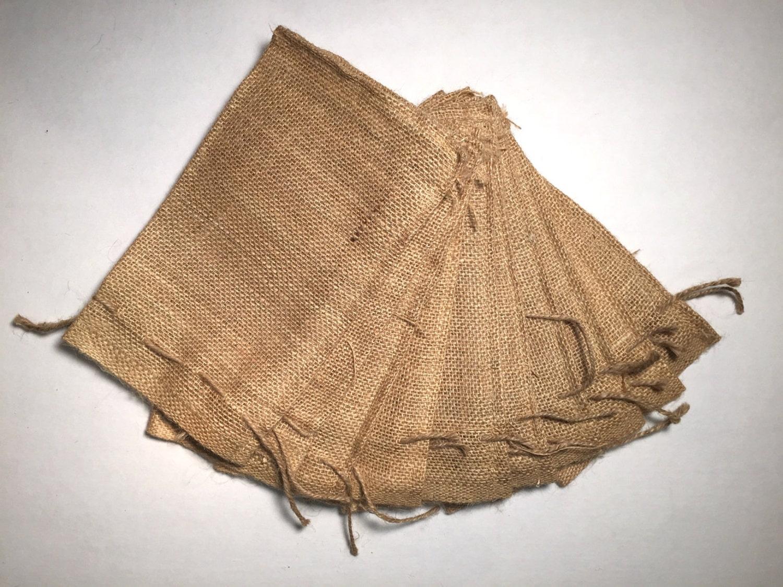 6x10 burlap bags with drawstring set of 10 wedding for Decorative burlap bags