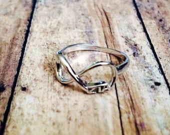 Zeta Tau Alpha Infinity Ring