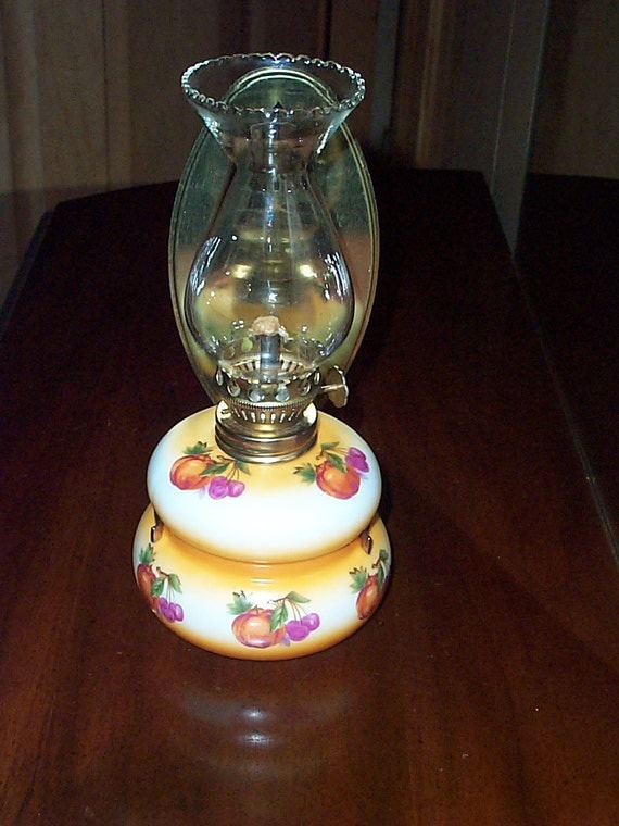 Enesco Oil or Kerosene Lamp with Wall Mount by CreativeYardArt1