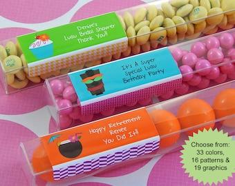 Wedding Fair Goody Bag Ideas : ... Candy Tube FavorsLuau Bridal Shower FavorsLuau IdeasSet of 15