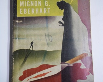 Hasty Wedding by Mignon G. Eberhart Popular Library #73 1938 Vintage Mystery Paperback