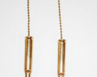 Handcrafted 243 bullet chain pulls or necklace or key chain