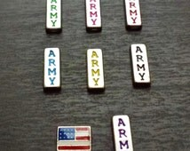 Army Floating Charm for Floating Lockets-Gift Idea