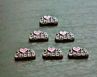 I Love to Cheer Floating Charms for Floating Lockets-Gift Idea