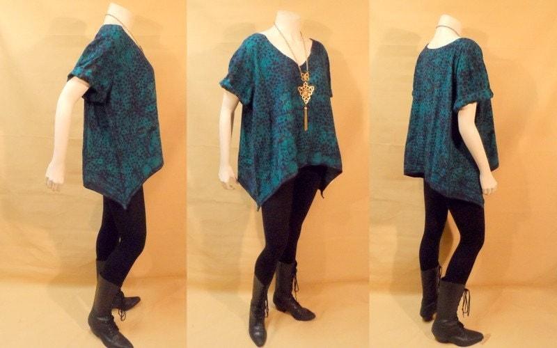Tie Dye XL Top NNAMDI IBENAGU African Batik By