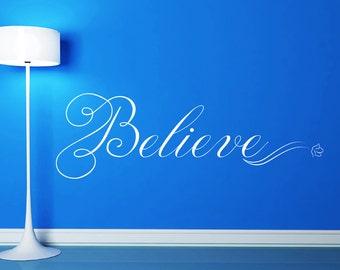Christian Wall Art   Believe