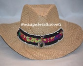 KUCHI HAT, HANDMADE Hat, Folk Hat, Summer Hat, Multicolor Hat, Ethnic Hat