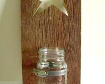 Mason Jar 4th Of July Door Hanger