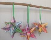 Japanese Christmas Origami Star