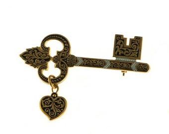 Key to My Heart Pin