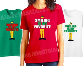 Smiling is my favorite humor funny holiday hers