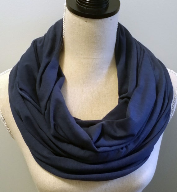 infinity scarf cotton jersey infinity scarf by