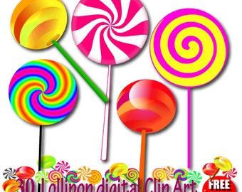 Candy lollipops   Etsy