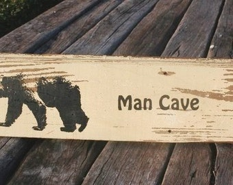 Beer - Sign - Den - Shed - Office - Brewing - MAN CAVE