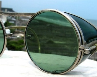 Pioneer Ful Vue Steampunk Motorcycle Safety Goggles by Bausch & Lomb