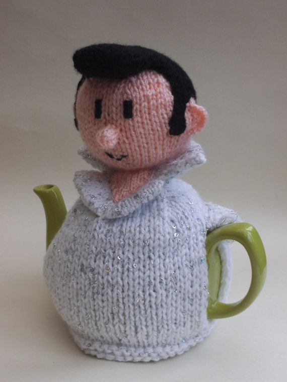 Elvis Presley Tea Cosy Knitting Pattern to Knit Your Own Elvis