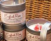English Rose Natural Soy Wax Candle