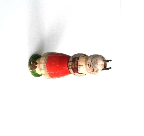 Wooden Knitting Doll : Antique knitting nancy vintage old wooden french by rvhills