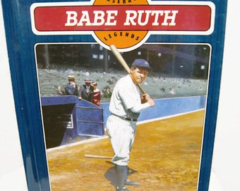 Babe Ruth Baseball Legends Norman L. Macht 1991 Chelsea House Publishers
